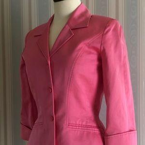 THIERRY MUGLER Vintage Pink Jacket Blazer 38